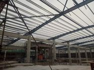 Q235B Building Steel Frame With Sandwich Panel Partition Parts GB Standard