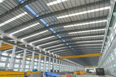 الصين Alkyd Paint Tubular Steel Structures With AWS , BS , EN , ISO Certificate موزع