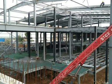 الصين Multi - Floor Building Steel Frame Fabrication With Aluminum Alloy Window\ موزع
